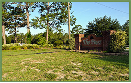 The Pines Entrance Mobile Home Park